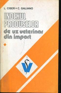 Indexul Produselor De Uz Veterinar Din Import