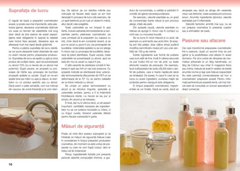 Cosmetice preparate acasa pdf